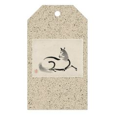 GIFT TAG CHINESE HORSE (UMA) - home gifts ideas decor special unique custom individual customized individualized