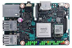 Asus Tinker Board is a Raspberry Pi-like mini PC with a processor Electronics Gadgets, Electronics Projects, Raspberry Pi Alternatives, Projetos Raspberry Pi, Computer Companies, Video 4k, Mini Pc, Arm Cortex, Raspberry Pi Projects
