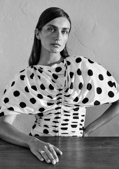 Andreea Diaconu | Black & White Cover Editorial | Unconditional Magazine