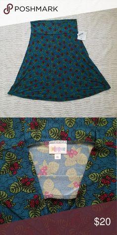 Lularoe Azure Skirt New with tags Azure LuLaRoe Skirts