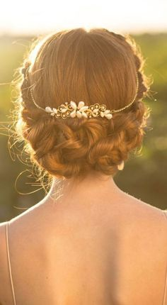 Graceful Bridal Updo Hairstyle