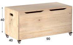 Muebles Auxiliares - Muebles Astigarraga - Muebles - BAUL-70 Baul de madera de pino macizo - BAUL-90