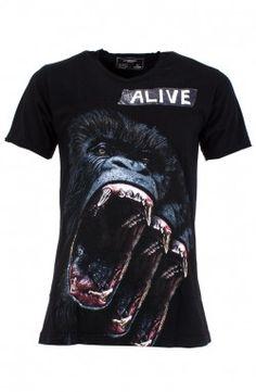 Dom Rebel - Ape Black T-Shirt (APEMT)