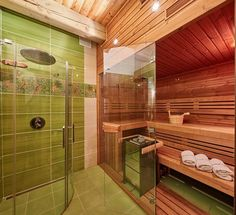 Na chalupách Roubal můžete relaxovat nejen v horské přírodě, ale také v sauně. Bathtub, Relax, Bathroom, Standing Bath, Washroom, Bathtubs, Bath Tube, Full Bath, Bath