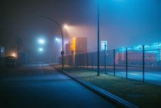 A foggy night in Hamburg