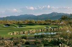 Dove Mountain Golf Course, Marana, AZ.  Home of the Accenture Matchplay Championship.