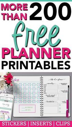 Free School Planner: 43 Amazing Organizers for Students + Monthly Calendar!