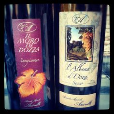 These are our special wines.. Sangiovese di Romagna and Albana dolce! Taste it!