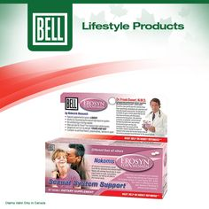 With Valentine's Day soon to be upon us, Bell Lifestyle Products reminds you that there is a solution for women who find that they have lost their desire in the bedroom.  Learn more about Erosyn on our website today. http://www.belllifestyleproducts.com/en-ca/erosyn-female-enhancement-supplement-7.htm