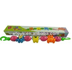 1.plastic baby bell rattle animals bell.  2.Good quality and best price.