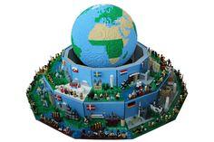 Around the World in 26 LEGO scenes