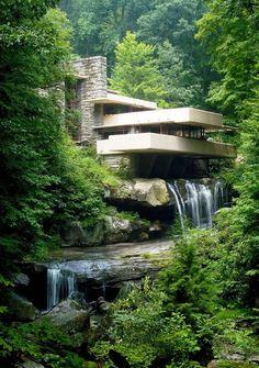 Falling Water by Frank Lloyd Wright