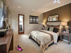 Bedroom Ideas and Designs with Photos and Tips - Realestate.com.au Classic bedroom design idea with carpet & bi-fold windows using cream colours - Bedroom photo 229438<br> Fancy those hotel style bedrooms? Go through our top ideas with photos to help you imagine and watch videos to guide you. Cream Carpet Bedroom, Discount Bedroom Furniture, Furniture Outlet, Bedroom Photos, Bedroom Ideas, Bedroom Designs, Cozy Bedroom, Modern Bedroom Decor, Carpet Design