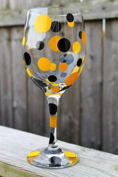 Pittsburgh Steelers Personalized Wine Glasses most by ahindle78, $10.00