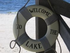 life ring for the lake