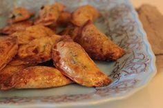As Minhas Receitas: Empanadilhas de Presunto, Espinafres e Requeijão