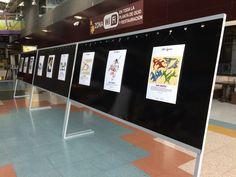 Exposición visiones sobre la Capoeira en el Centro Comercial Alzamora de Alcoy