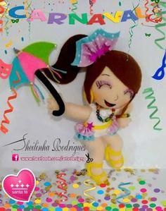 Molde de Boneca Carnaval Baixar molde de boneca no carnaval para decoração de festa e animação