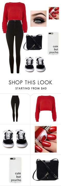 """Untitled #283"" by marie-g05 ❤ liked on Polyvore featuring Topshop, River Island, ASAP and Yves Saint Laurent"
