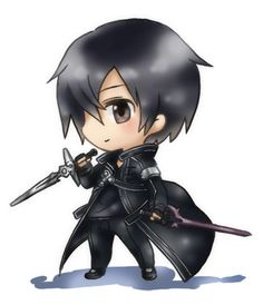 Sword Art Online Kirito Chibi