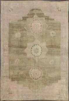 """KEIVAN WOVEN ARTS,   Type :Oushak Origin :Turkey  Size : 12'0""""x16'0""""  Circa :1940"""