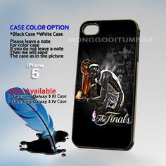 Winners Lebron James Miami Heat Photo Hard Plastic iPhone 5 Case Cover   MonggoDiTumbas - Accessories on ArtFire