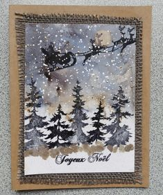 The ideas of Magouille: Bister Bister or Tim Holtz and trees