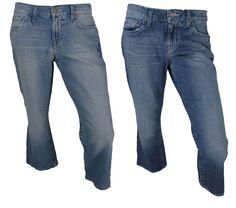 Lucky Brand Womens Classic Rider Jeans 8 / 29 Crop Capri Blue Denim Pants NEW #LuckyBrand #CapriCropped