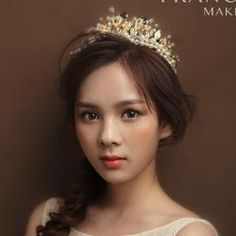 Baroque Crown Pearl Wedding  Tiaras And Crowns