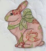 Applique Bunny Quilt at Jenny's Sewing Studio