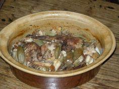 recette de terrine de lapin - Lapin en gelée façon de ch'nord