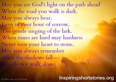 inspirational quotes for difficult times | poem, inspirational prayers, inspiring quotes, inspirational quotes ...