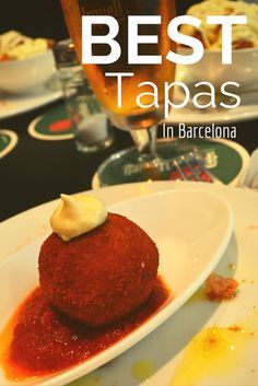 It's all about the tapas in Barcelona. Find out where to find the best tapas and which authentic dishes you have to try. Book your Barcelona weekend getaway now -> www. Barcelona Food, Barcelona Travel, Barcelona Restaurants, Gaudi, Best Tapas, Good Foods To Eat, Spanish Food, Spanish Recipes, Spain And Portugal