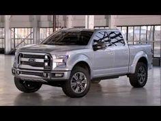 """【2013デトロイトショー:動画】フォード、フルサイズピックアップトラックのコンセプトモデル""""アトラス""""を発表 : Moter Sounds"""