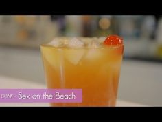 """Ever tried the popular cocktail called """"Sex on the Beach?"""" Made with vodka, schnapps, and fruit juice - it's a fresh and fun drink recipe that's sure to delight."""