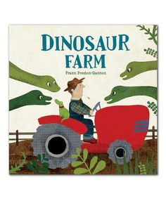 Love this Dinosaur Farm Hardcover on #zulily! #zulilyfinds