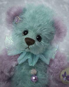 Flora Fickle Close Up My Teddy Bear, Cute Teddy Bears, Animal Close Up, Teddy Edwards, Cute Fantasy Creatures, Boyds Bears, Bear Doll, Animal Crafts, Shabby