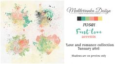 First love (Accents) by Mediterranka Design