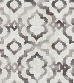 example of breakfast/dining chair fabric Kelly Ripa Multi-Purpose Decor Fabric Vibes Ebony, Fabric Dining Chairs, Chair Fabric, Drapery Fabric, Room Chairs, Curtains, Dinning Chairs, Metal Chairs, Bar Chairs, Office Chairs