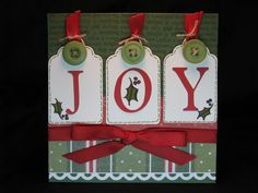CTMH/Joy Handmade Christmas Card