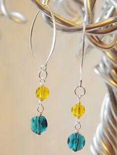 SunScape Earrings  -SOLD