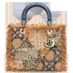 The Lady Dior tweed patchwork bag that I need for the Weekend