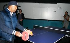 Russell Simmons having a go Russell Simmons, Ripley Believe It Or Not, Music Labels, Celebs, Celebrities, Tennis, Table, Tables, Celebrity