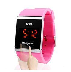 Skmei Slim Touch Bildschirm elektronische Uhren Neue leuchtende Korean Damen und Herren Fashion LED-Uhr Wasserdicht Armbanduhr Studenten - http://uhr.haus/josh-duran/skmei-slim-touch-bildschirm-elektronische-uhren-3