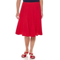 Sag Harbor® The Mariner Flared Skirt