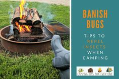 4 Ways to Banish Bugs at Your Campsite Camping For Beginners, Camping 101, Kayak Camping, Camping Glamping, Winter Camping, Camping With Kids, Campsite, Camping Hammock, Ultralight Backpacking