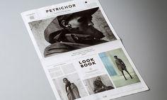print (book, magazine, newspaper) + typography + editorial + layout + design | Norwegian Rain