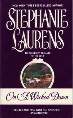 On a Wicked Dawn (Cynster Novels) by Stephanie Laurens, http://www.amazon.com/dp/B000FC1340/ref=cm_sw_r_pi_dp_xmGorb124T1BX