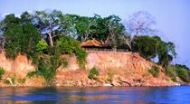 Rufiji River Camp - Tanzania. This 9 day safari of southern Tanzania, takes guests from Dar es Salaam into Selous Game Reserve, Ruaha and Mikumi National Parks. All three parks are beautiful wilderness areas that are rich in game and unforgettable African scenery. The safari is operated by vehicle, however we can offer a fly in version if you prefer.