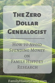 If you've been reading Family History Daily for some time you know we love free genealogy records and programs so, to help you save costs, we're looking at the top four costs for family historians and their free alternatives. Read on for tips. Free Genealogy Records, Free Genealogy Sites, Genealogy Forms, Family Genealogy, Genealogy Search, Genealogy Chart, Ancestry Records, Genealogy Humor, Family Tree Research